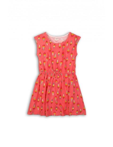 Sukienka dziewczęca na lato- 100% bawełna