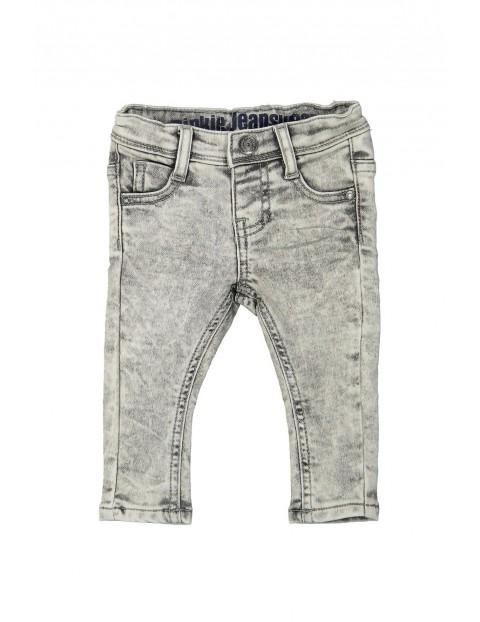 Spodnie chłopięce z miękkiego jeansu