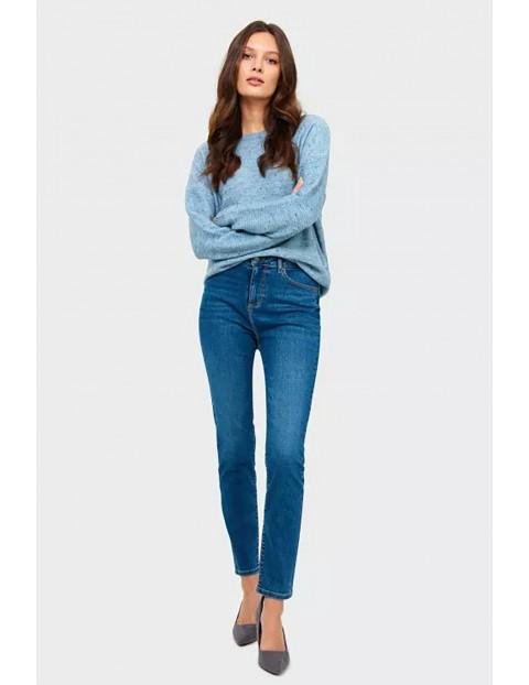 Spodnie jeansowe damskie - slim
