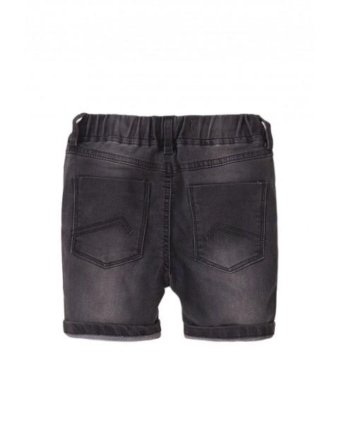 Szorty niemowlęce jeansowe- szare