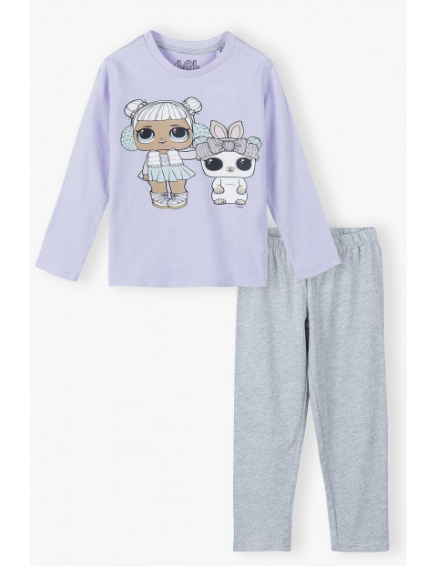 Piżama dziewczęca dwuczęściowa LOL