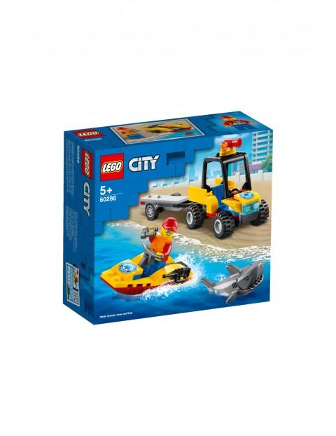 LEGO City - Plażowy quad ratunkowy - 79 elementów