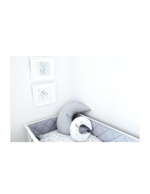 Ochraniacz pikowany na łóżeczko