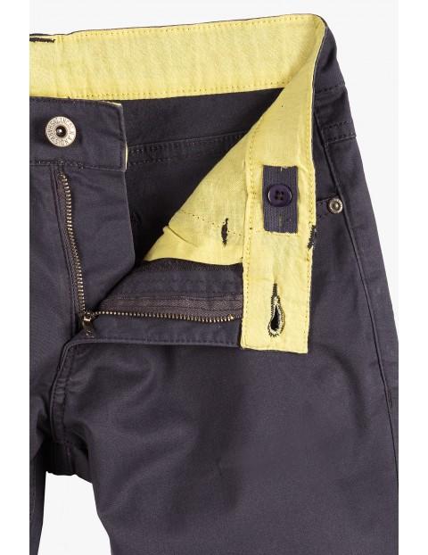 Spodnie dla chłopca- szare z kieszeniami