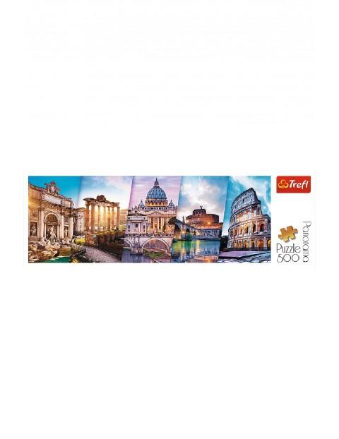 Puzzle  Panorama - Podróż do Włoch - 500 elementów