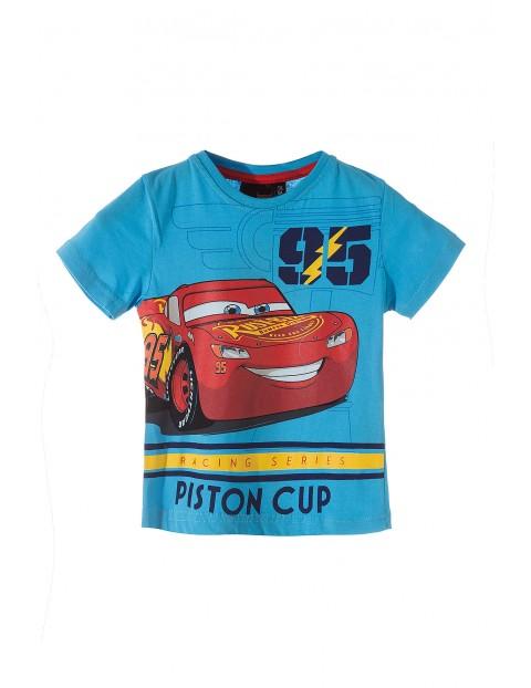 T-shirt chłopięcy Auta 1I34EQ