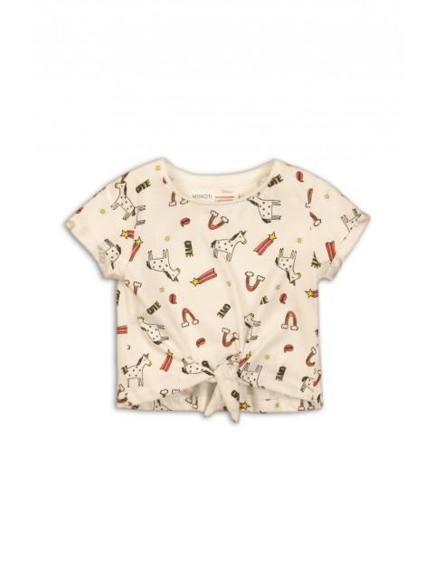 T-shirt w jednorożce dla dziewczynki 92/98