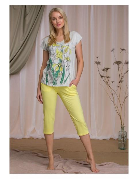 Wiosenna piżama w kwiaty