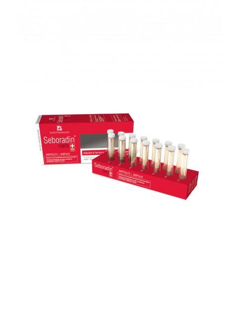 Seboradin Forte ampułki - kuracja przeciw przewlekłemu wypadaniu i przerzedzaniu włosów - 14x5,5 ml