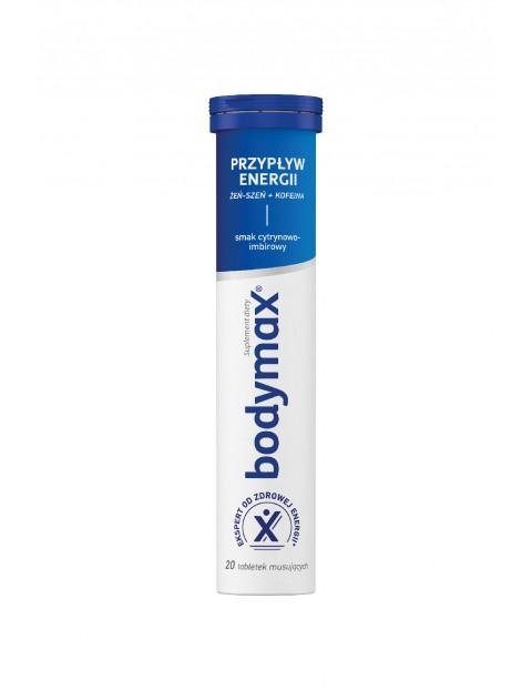 Bodymax PRZYPŁYW ENERGII 20 tabletek musujących