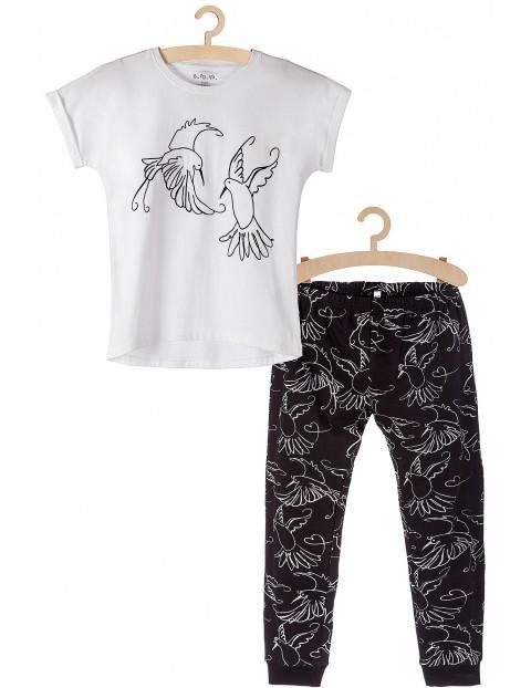 Piżama dziewczęca w kolibry