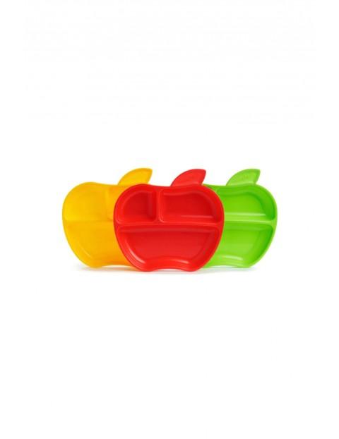 Zestaw talerzyków jabłuszko Munchkin 3 sztuki