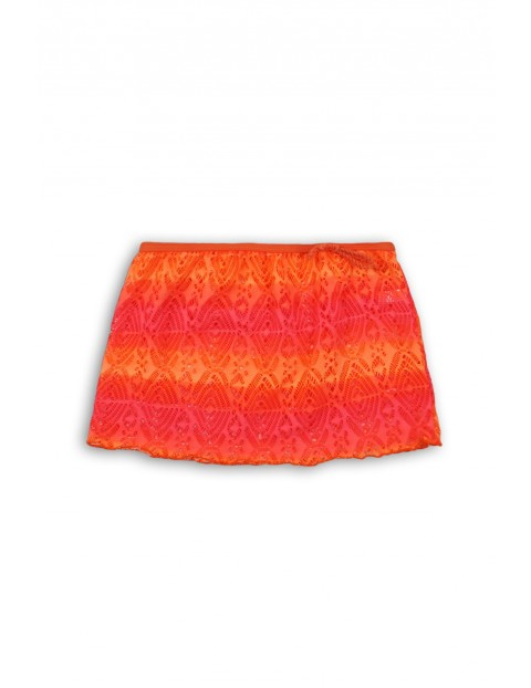 Kolorowa spódniczka plażowa