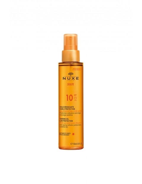 NUXE SUN Brązujący olejek do opalania (w sprayu) - niska ochrona SPF10 150 ml