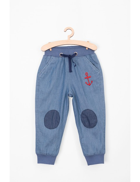 Spodnie dla niemowlaka - 100% bawełna