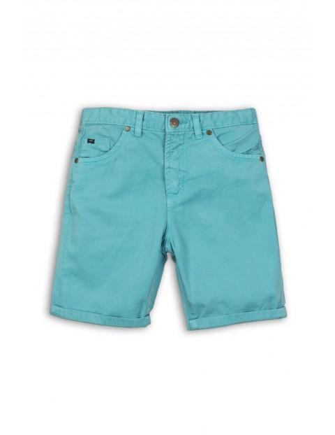 Niebieskie spodenki na lato dla chłopca