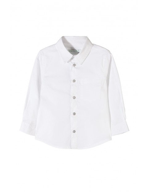 Koszula chłopięca biała