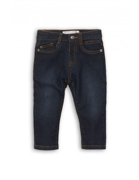 Spodnie chłopięce jeansowe 1L35BJ