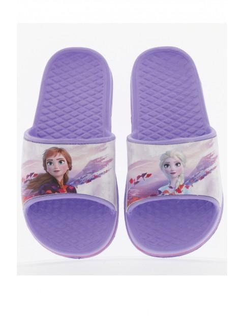 Fioletowe klapki dla dziewczynki Frozen