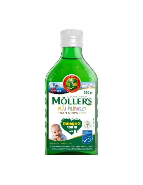 Möller's Mój pierwszy tran Norweski 250ml od 4tygodnia życia
