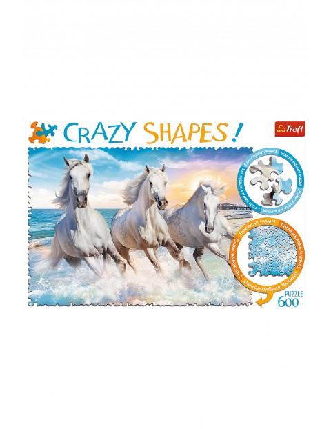 Puzzle Trefl Crazy Shapes - Galop wśród fal - 600 elementów