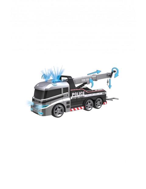 Ciężarówka policji- samochód