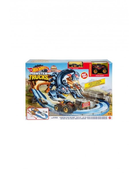Hot Wheels Monster Trucks - Tor Skorpion wiek 4+