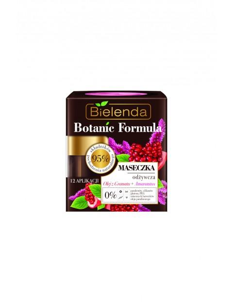 BOTANIC FORMULA Olej z Granatu + Amarantus Maseczka odżywcza Bielenda - 50 ml
