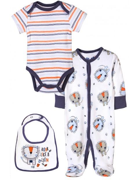 Komplet niemowlęcy bieliźniany 5W3427