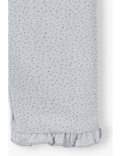 Spodnie dresowe dziewczęce - szare