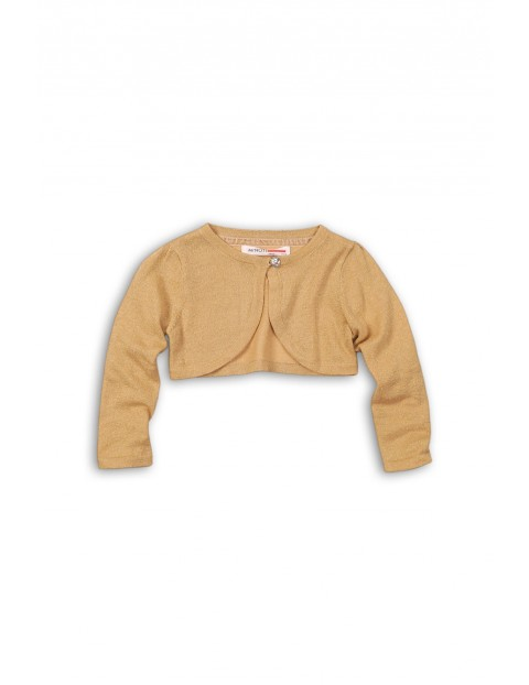 Sweter dziewczęcy- bolerko