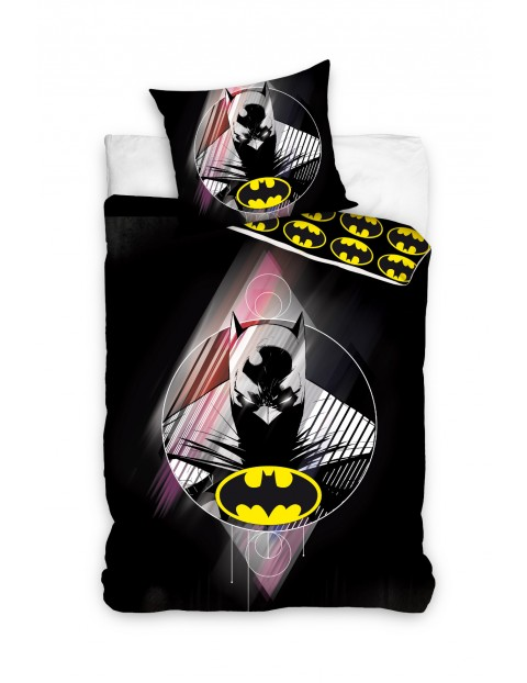 Batman pościel bawełniana 160x200+70x80cm