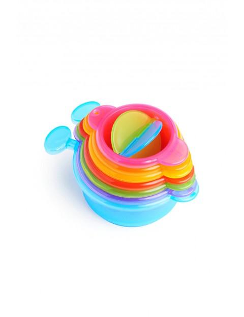 Zabawka kąpielowa gąsienica z miseczkami Munchkin