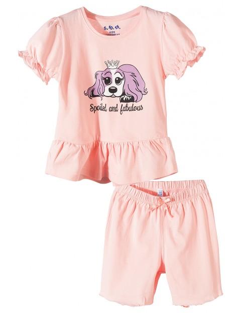 Pidżama dziewczęca 3W3418
