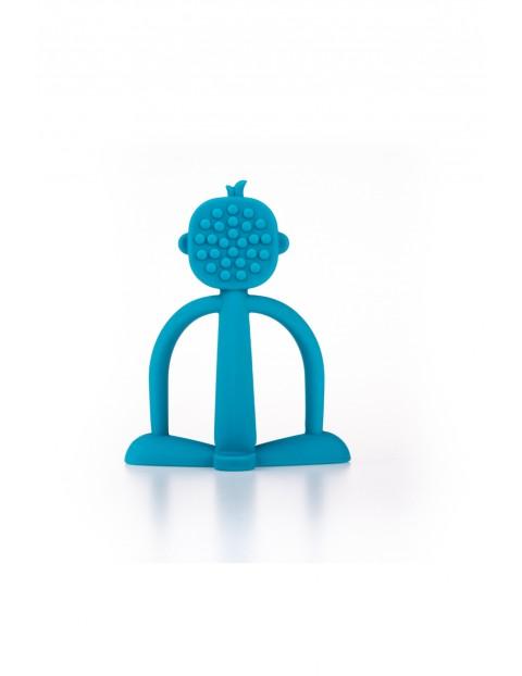 Silikonowy gryzaczek w kształcie zabawnej małpki GiliGums