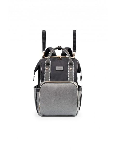 Plecak dla mamy idealny do wózka - czarny