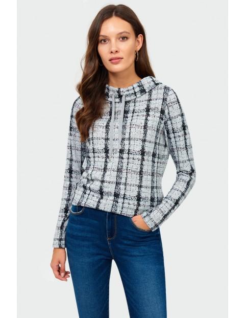 Bluza damska w kratkę