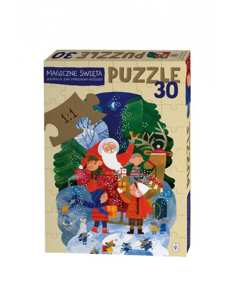 Puzzle- Magiczne Święta