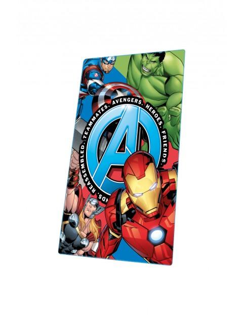 Koc polarowy z motywem Avengers 150x100cm