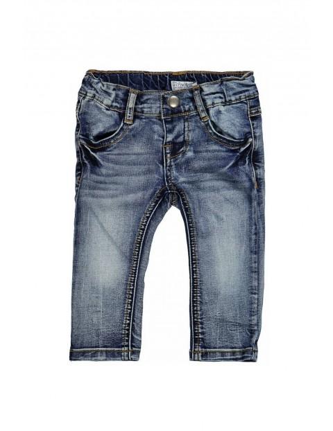 Spodnie niemowlęce jeansowe 5L35BL