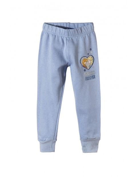 Spodnie dresowe dla dziewczynki 3M35B4