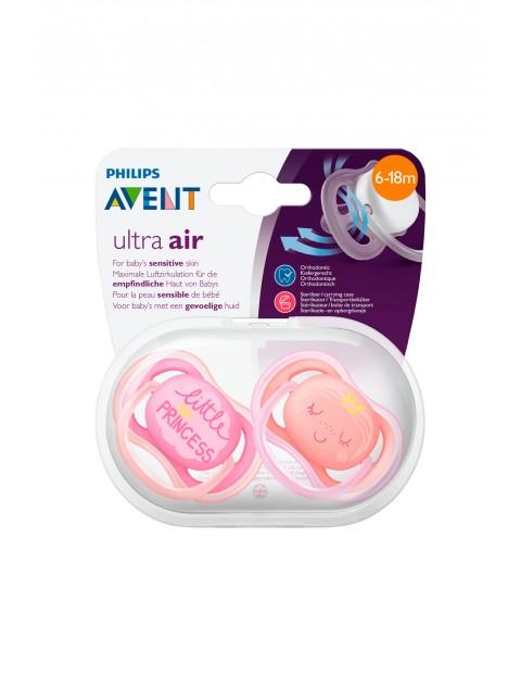 Smoczek Avent Ultra Air 6-12msc - 2szt