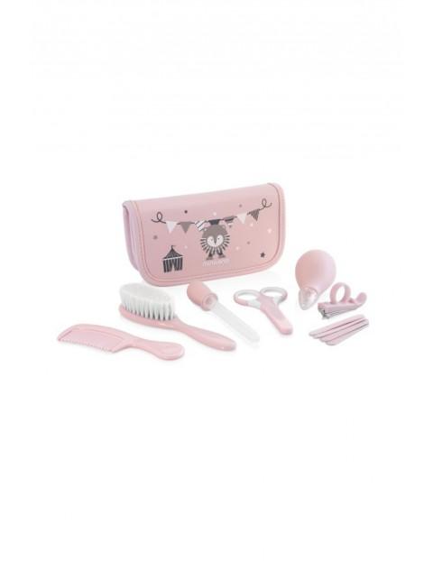 Zestaw do pielęgnacji dziecka (7 produktów) - różowy