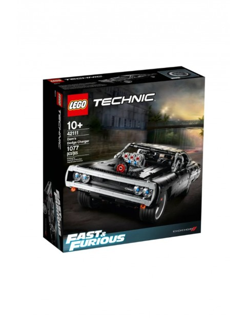 LEGO® Technic 42111 Dom's Dodge Charger - 1077 elementów wiek 10+