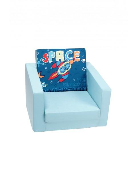 Rozkładany piankowy fotelik dla dziecka Delsit Space