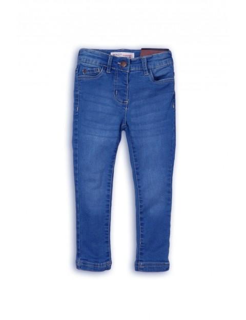 Spodnie dziewczęce jeansowe-niebieskie