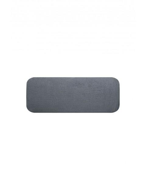 Ręcznik frotte gładki szary 70x140 cm