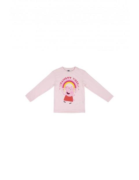 Bluzka dziewczęca Peppa - różowa