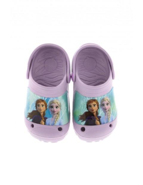 Klapki dziewczęce  w kolorze fioletowym - Frozen