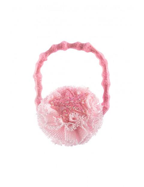 Gumka do włosów - różowa